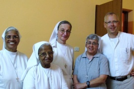 The sisters of the two communities with the Nuntio